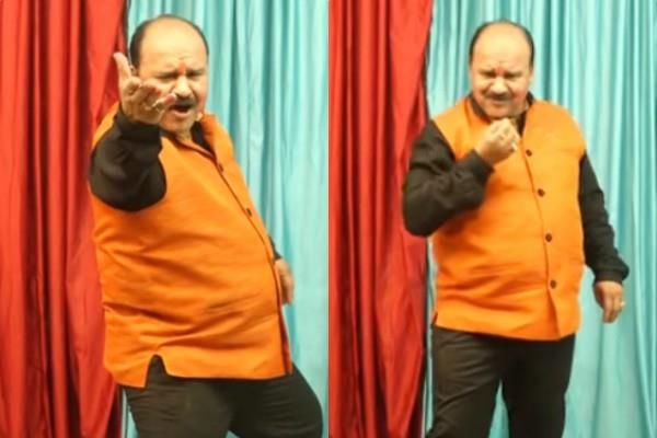 dancing uncle sanjeev shrivastava song viral on social media