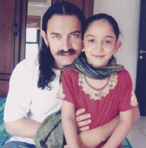 aamir khan special message for daughter