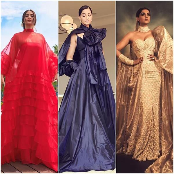 sonam kapoor dazzles in latest cannes look