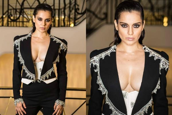 kangana ranaut bold look at cannes party