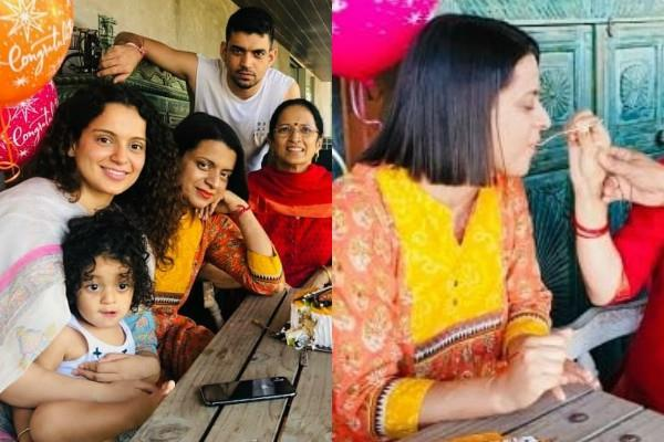 kangana ranaut sister rangoli celebrate 8 years of marriage