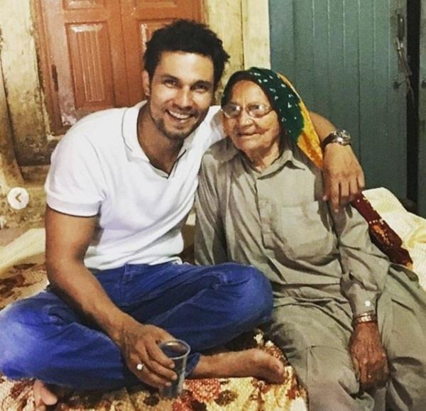 randeep hooda grand mother died