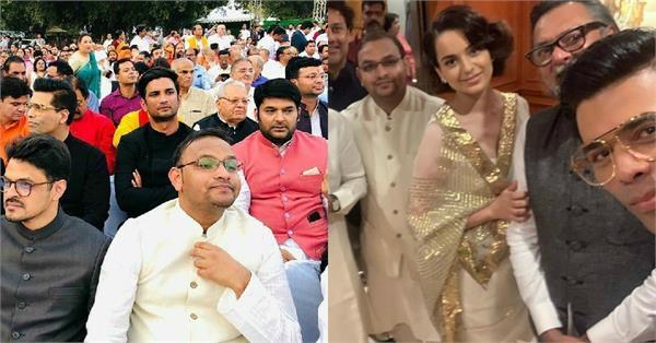 bollywood stars attend the event narendra modi oath ceremony in delhi