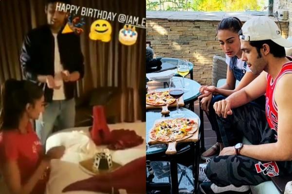 erica fernandes celebrated her birthday in mussourie with parth samthaan