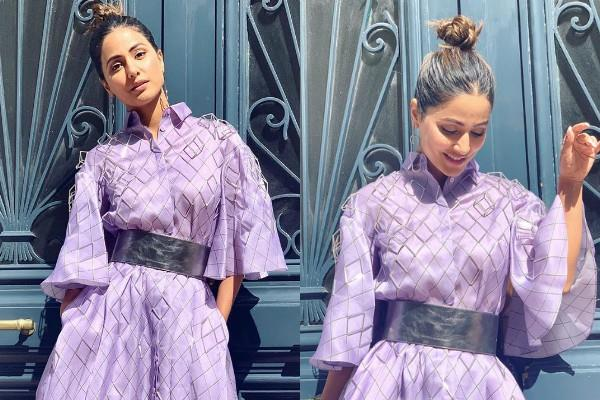 hina khan stylish look