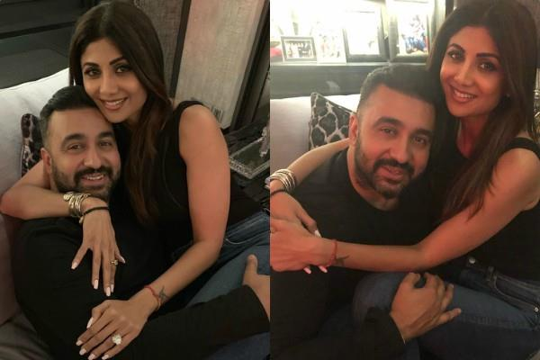 raj kundra share loved up photo with wife shilpa shetty