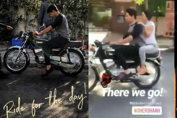 sidharth malhotra and kiara advani bike ride