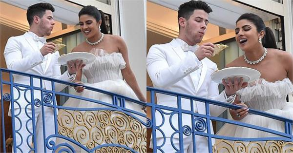priyanka chopra nick jonas romantic pictures at cannes 2019