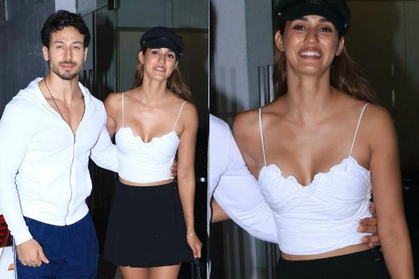 tiger shroff spotted with disha patani