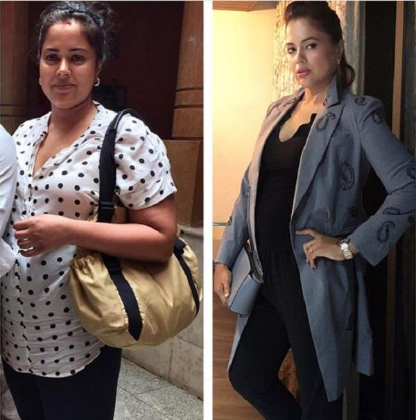 sameera reddy share then and now picture
