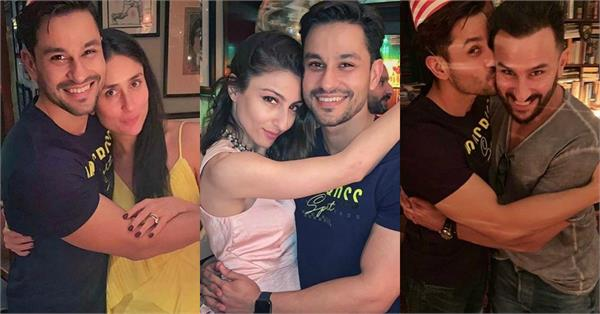 kunal khemu celebrates his birthday at saif kareena residecnce
