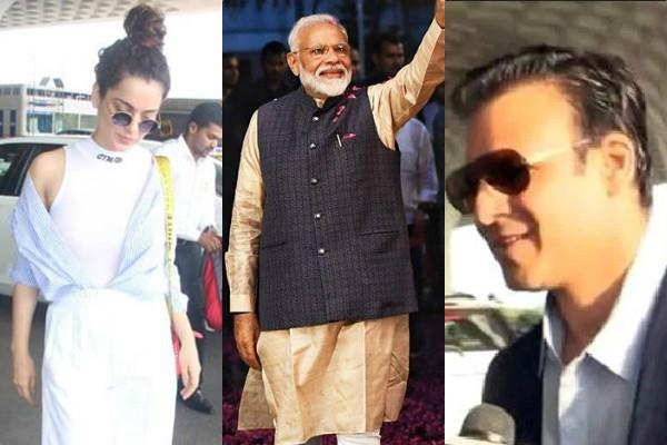 bollywood stars at pm modi oath ceremony