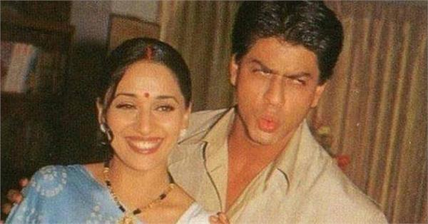 shah rukh khan madhuri dixit photo viral from hum tumhare hain sanam movie