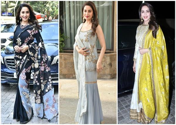 madhuri dixit s 10 best traditional dresses