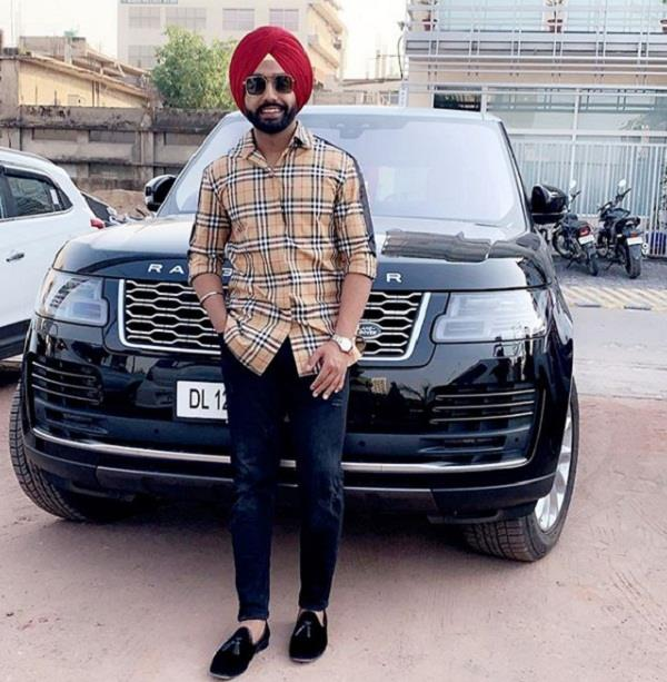 ammy virk purchase new luxury car