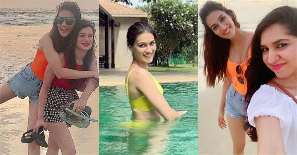 kriti sanon goa vacation pictures with girls gang
