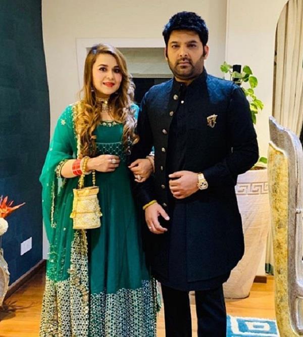 kapil sharma on wife ginni chatrath
