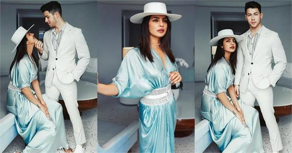 priyanka chopra nick jonas royal look pictures