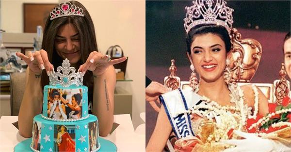 sushmita sen celebrates 25 years of winning miss universe