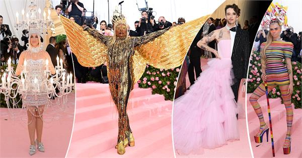 hollywood stars at met gala 2019