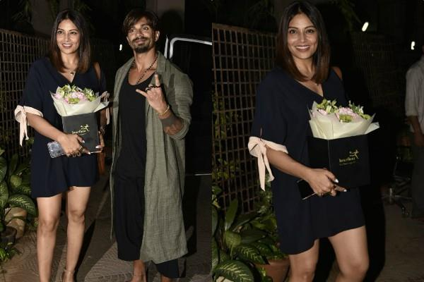 bipasha basu spotted at bandra with hubby karan singh grover