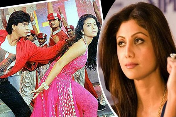 shilpa shetty upset with kajol