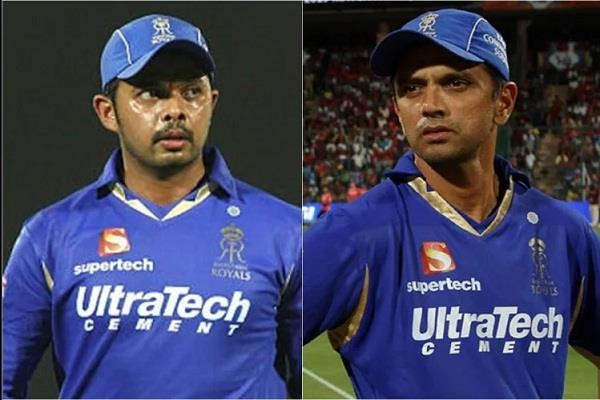 former coach claim of sreesanth gave dravid