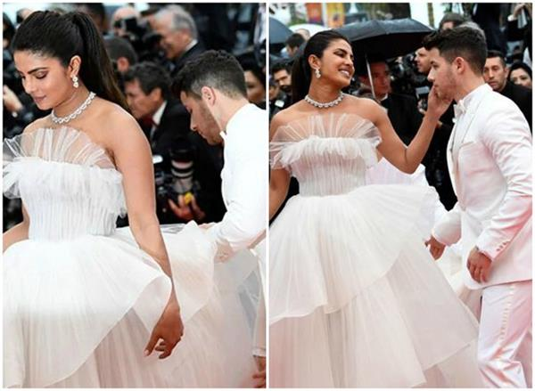priyanka chopra nick jonas steal some romantic moments at cannes 2019