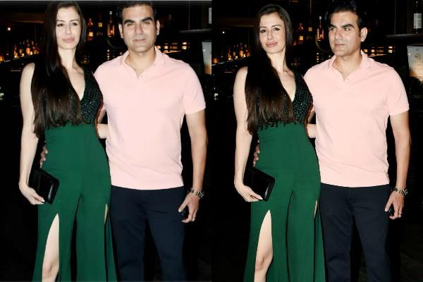 arbaaz khan party with girlfriend georgia andriani