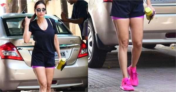 malaika arora latest gym pictures