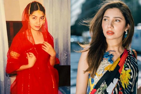 pakistani actress mahira khan shared old picture