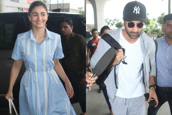 ranbir kapoor alia bhatt take off to varanasi