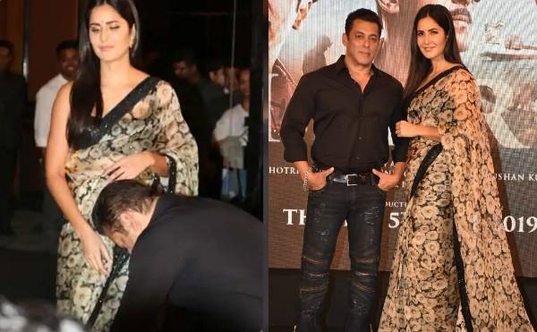 salman khan and katrina kaif at song launch