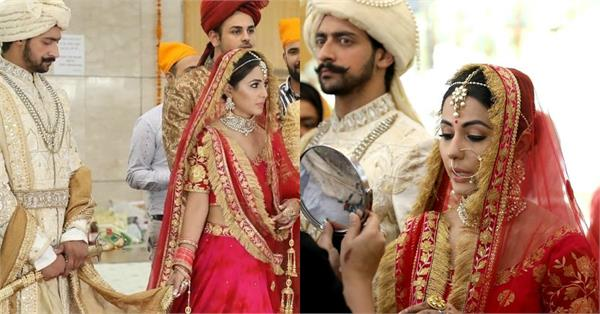 hina khan bridal look pictures viral