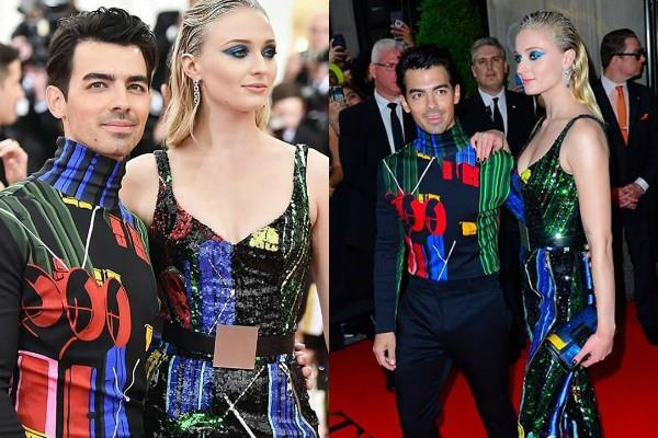 sophie turner and joe jonas at met gala 2019