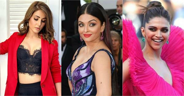 hina  aishwarya deepika sonam to wear these designer dresses at cannes