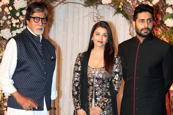 aishwarya rai bachchan is upset with amitabh bachchan