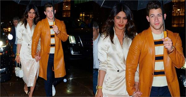 priyanka chopra walks hand in hand with hubby nick jonas
