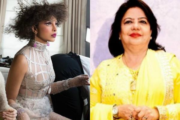 प्रियंका चोपड़ा के मेट गाला लुक पर मां मधु का बयान, कहा- 'मैंने उसे कॉल किया और...'