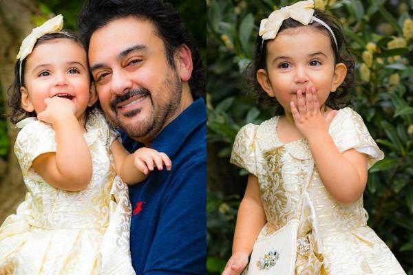 adnan sami gift her daughter expensive stroller on her second birthday