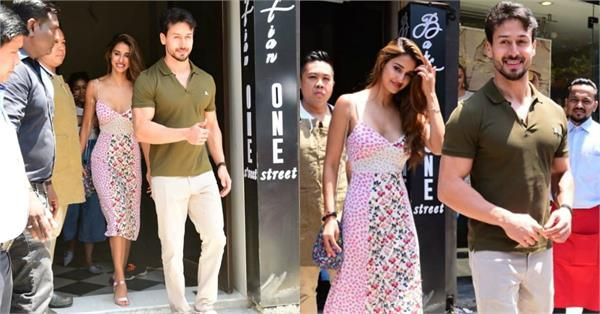 disha patani spotted at lunch date with bf tiger shroff