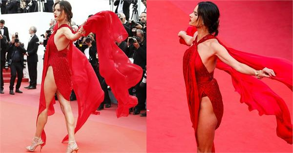 alessandra ambrosio at cannes film festival 2019