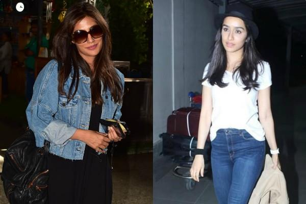 chitrangada singh shraddha kapoor spotted at airport