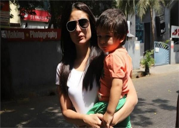 kareena revealed that taimur is not allowed to watch tv