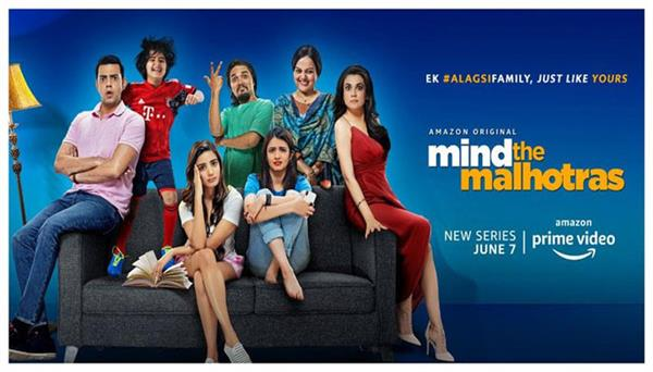 first look of amazon original  mind the malhotras  released amazon prime video