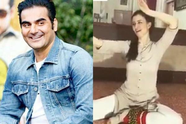 arbaaz khan share girlfriend dance video on instagram