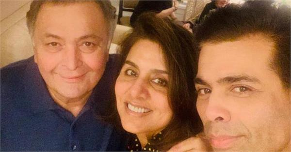 karan johar visits new york