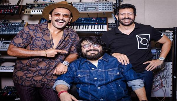 ranvir singh welcomed pritam in film 83 with photo
