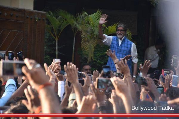 amitabh bachchan meet with his fans