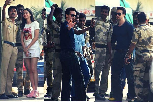 tiger shroff and ananya pandey latest pics